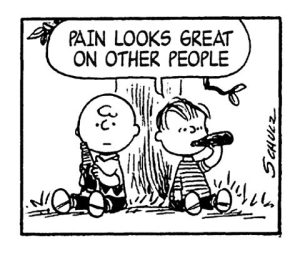 Peanuts-schadenfreude
